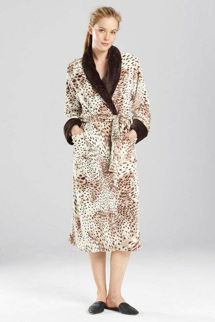 Buy N Natori Snow Leopard Robe from