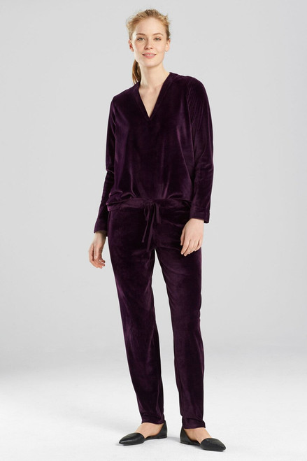 Buy N Natori Velour Solid Pants from