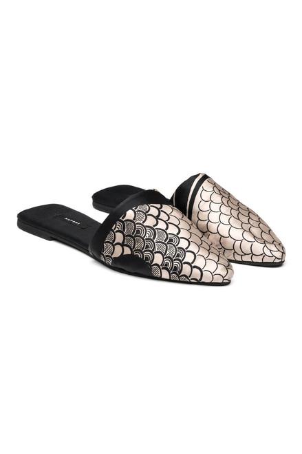 Buy Natori Art Nouveau Silk Mules from