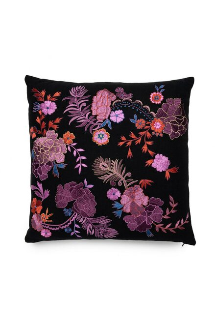 Buy Natori Mayon Bohemian Floral Embroidery Pillow from