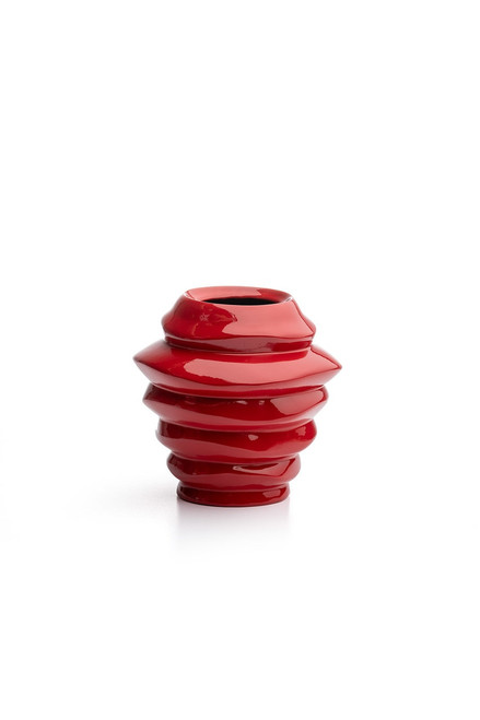 Buy Natori Manila X-Small Red Vase from