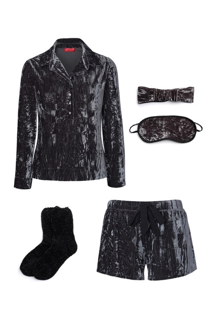 Buy Josie Velvet Crush PJ Gift Set - Granite from