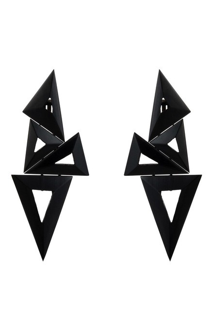 Buy Horn Triangle Mix Earrings from