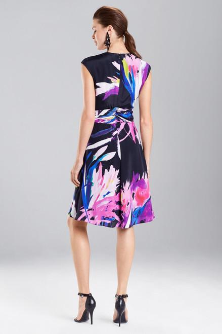 Josie Natori Prism Knotted Dress at The Natori Company