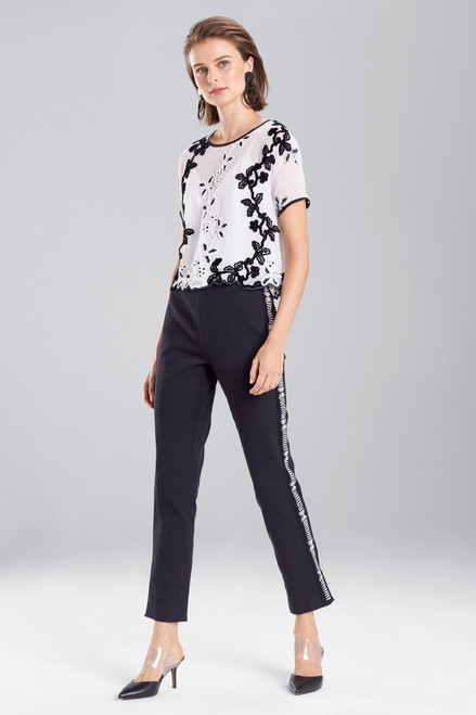 Buy Josie Natori Embroidered T-Shirt from