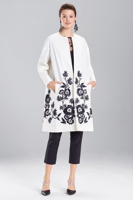 Buy Josie Natori Heavy Nylon Embroidered Topper from