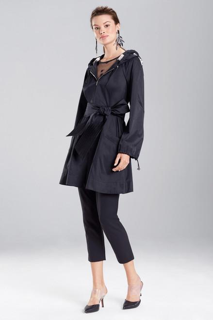 Buy Josie Natori Tech Nylon Embroidered Jacket from