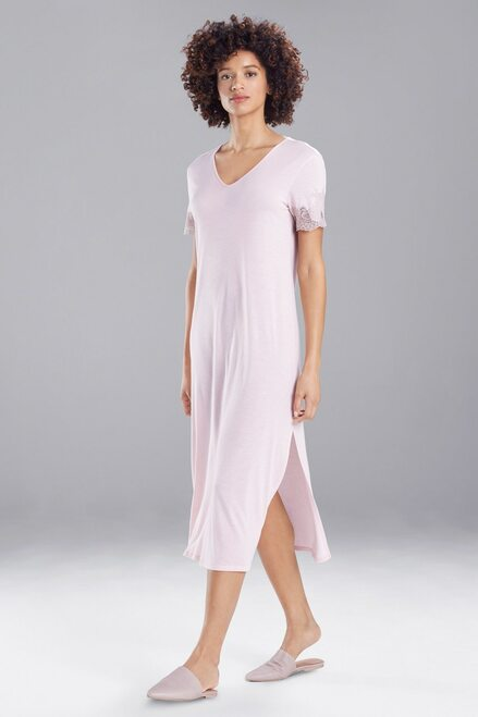 Natori Womens Luxe Shangri-la Sleepshirt F72056