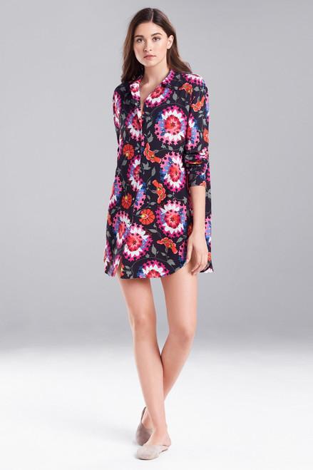 Buy Abstract Suzani Sleepshirt Black Multi from