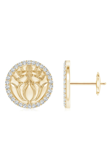 14K Yellow Gold/Diamonds