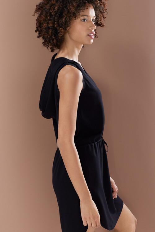 N-Vious Hooded Dress