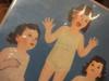 Dionne, Cecile Color Paper Doll Set Signed Autograph Dionne Quintuplets