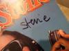 Wonder, Stevie Rolling Stone Magazine 1986 Signed Autograph Color Cover Photo