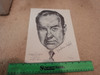 """Crawford, Broderick Portrait Print Signed Autograph 1962 """"All The King's Men"""""""