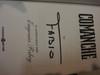 """Fabio (Lanzoni) """"Comanche"""" 1995 Book Signed Autograph Color Cover"""