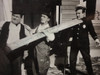 """Laurel and Hardy Stan Laurel and Oliver Hardy Movie Scene 1928 Photo Signed Autograph """"The Finishing Touch"""""""