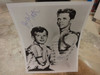 Leave It To Beaver Publicity Photo Jerry Mathers and Tony Dow Signed Autograph