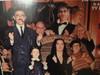Addams Family 1965 LP Signed Autograph John Astin Ken Weatherwax Lisa Loring Felix Silla Theme