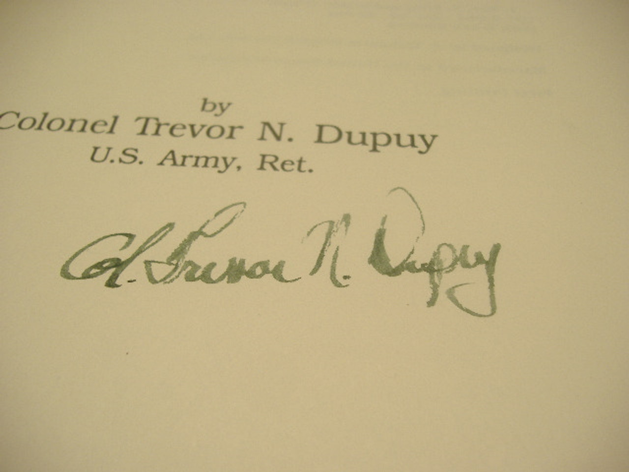 Dupuy,T.N. Colonel-The Evolution Of Weapons And Warfare
