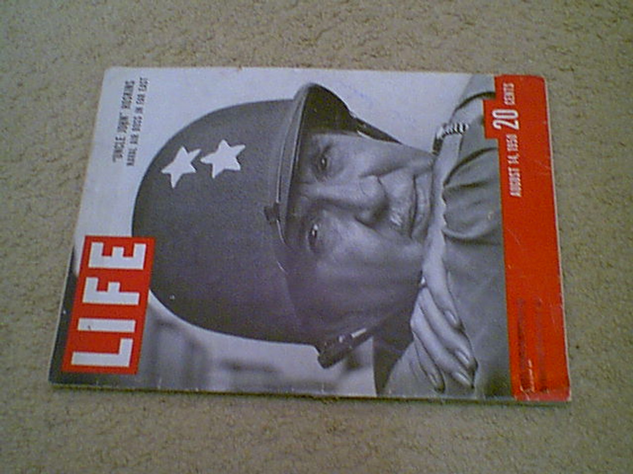 Hoskins, Admiral John Life Magazine 1950 Signed Autograph Korean War
