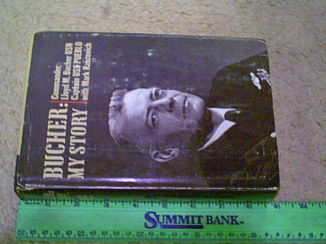 "Bucher, Lloyd M. ""My Story"" 1970 Book Signed Autograph Photos"