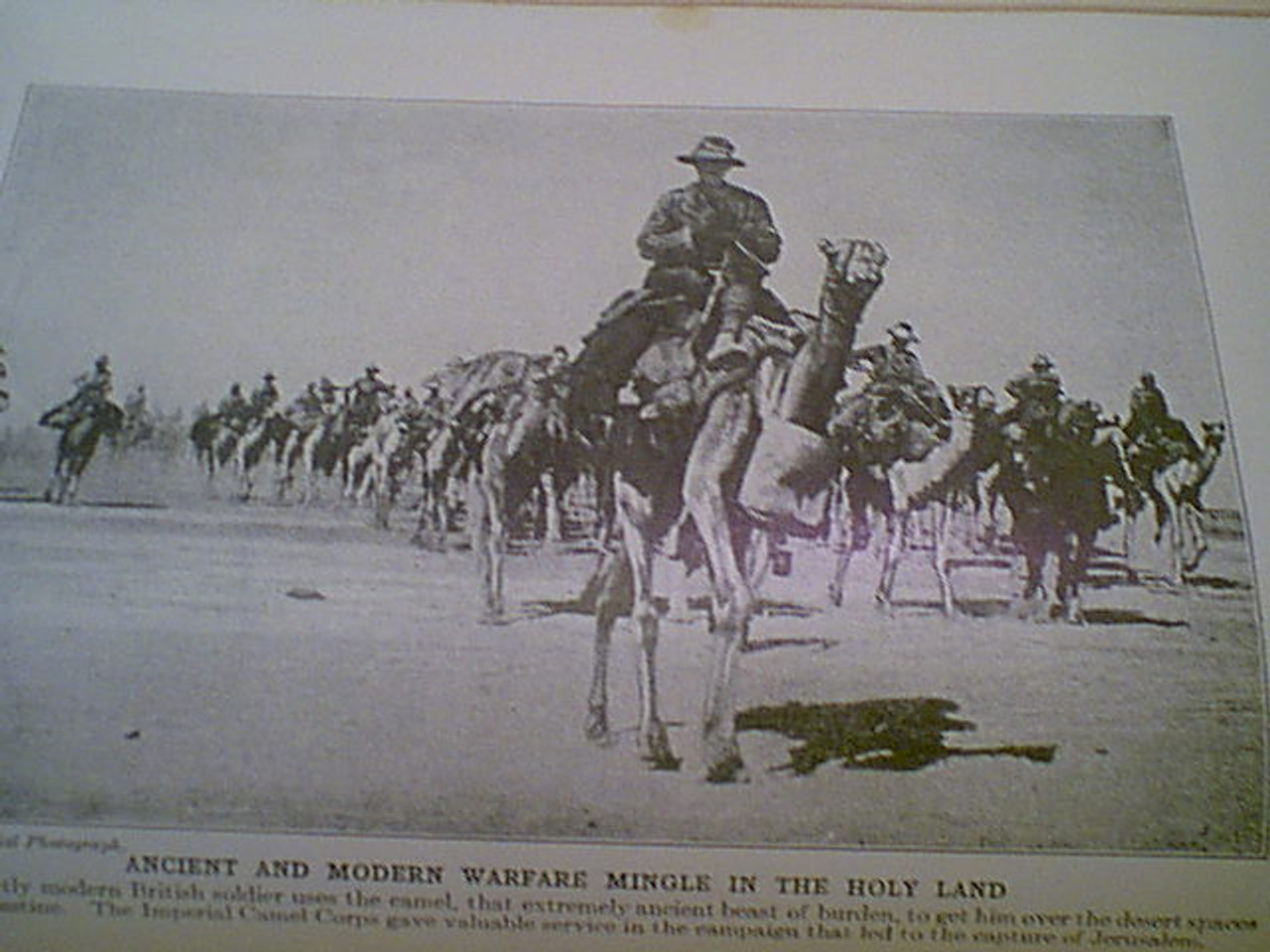 """March, General Peyton C. March """"History Of The World War"""" 1919 Book Signed Autograph Photos Illustrations Ww I"""