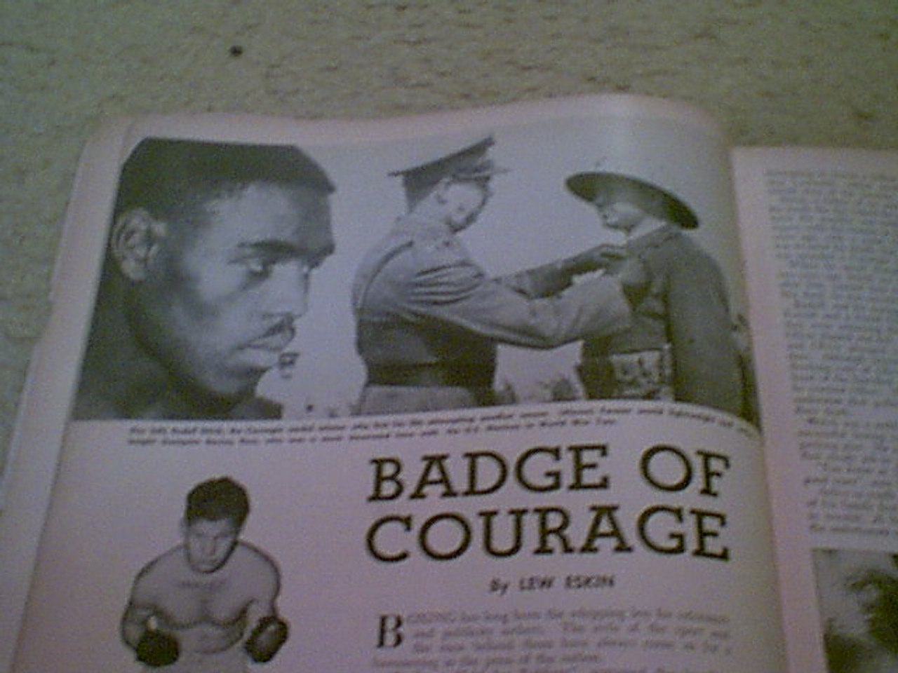"""Patterson, Floyd """"The Ring"""" Magazine 1960 Signed Autograph Boxing Cover Photo"""