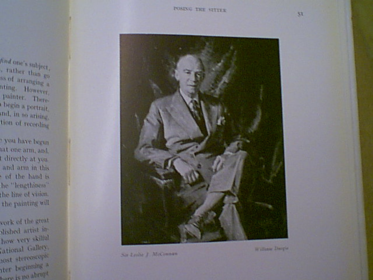 """Dargie, William """"On Painting A Portrait"""" 1957 Book Signed Autograph Illustrated England"""
