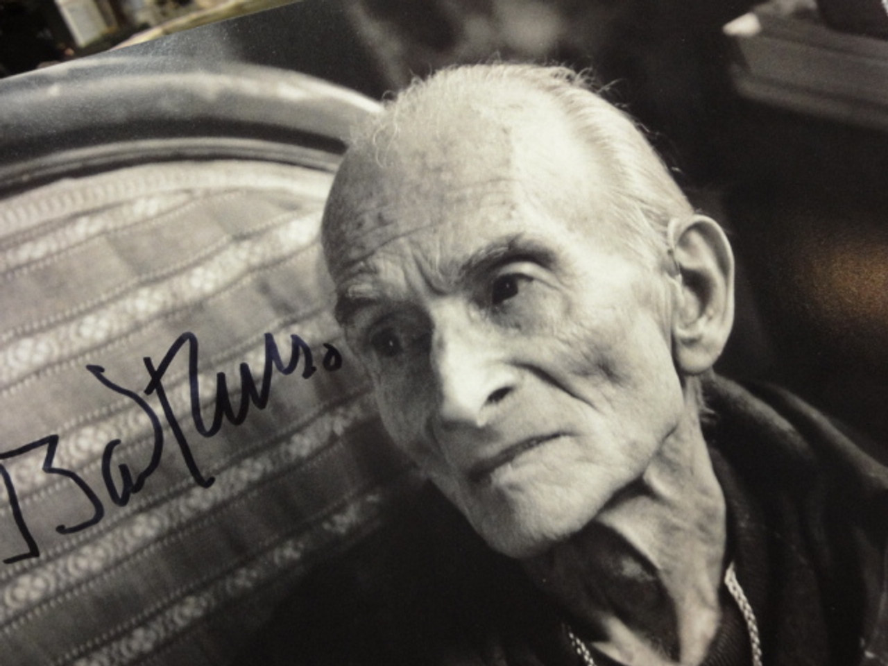 Balthus Photo Signed Autograph Artist