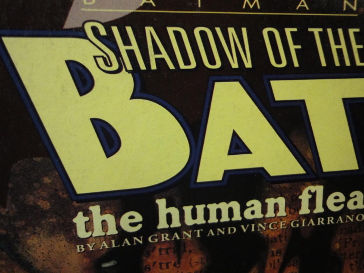 "Grant, Alan ""Batman-Shadow Of The Bat The Human Flea"" 1993 Graphic Novel Signed Autograph Illustrated"