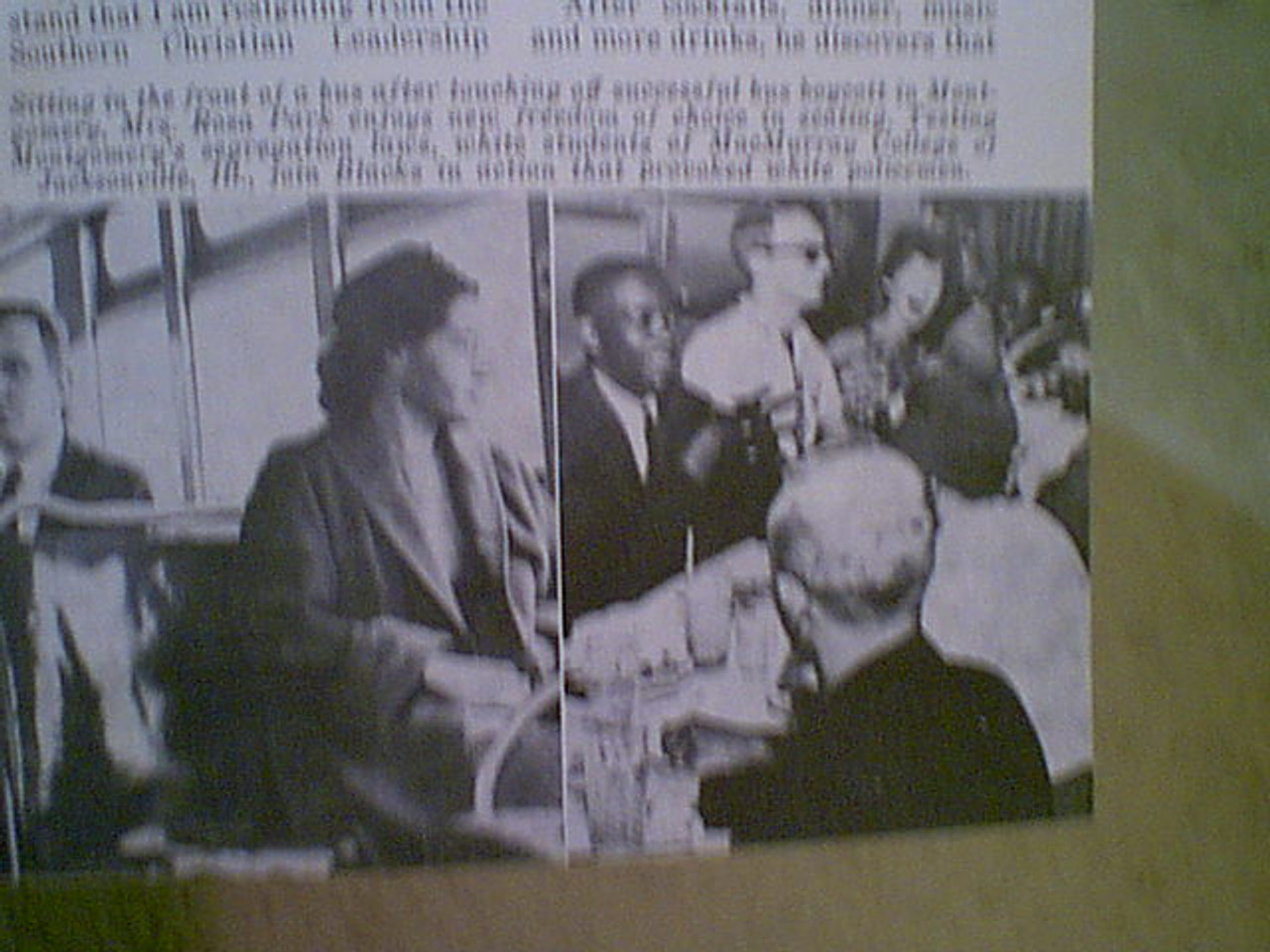 Abernathy, Ralph Jet Magazine 1973 Signed Autograph Color Cover Photo