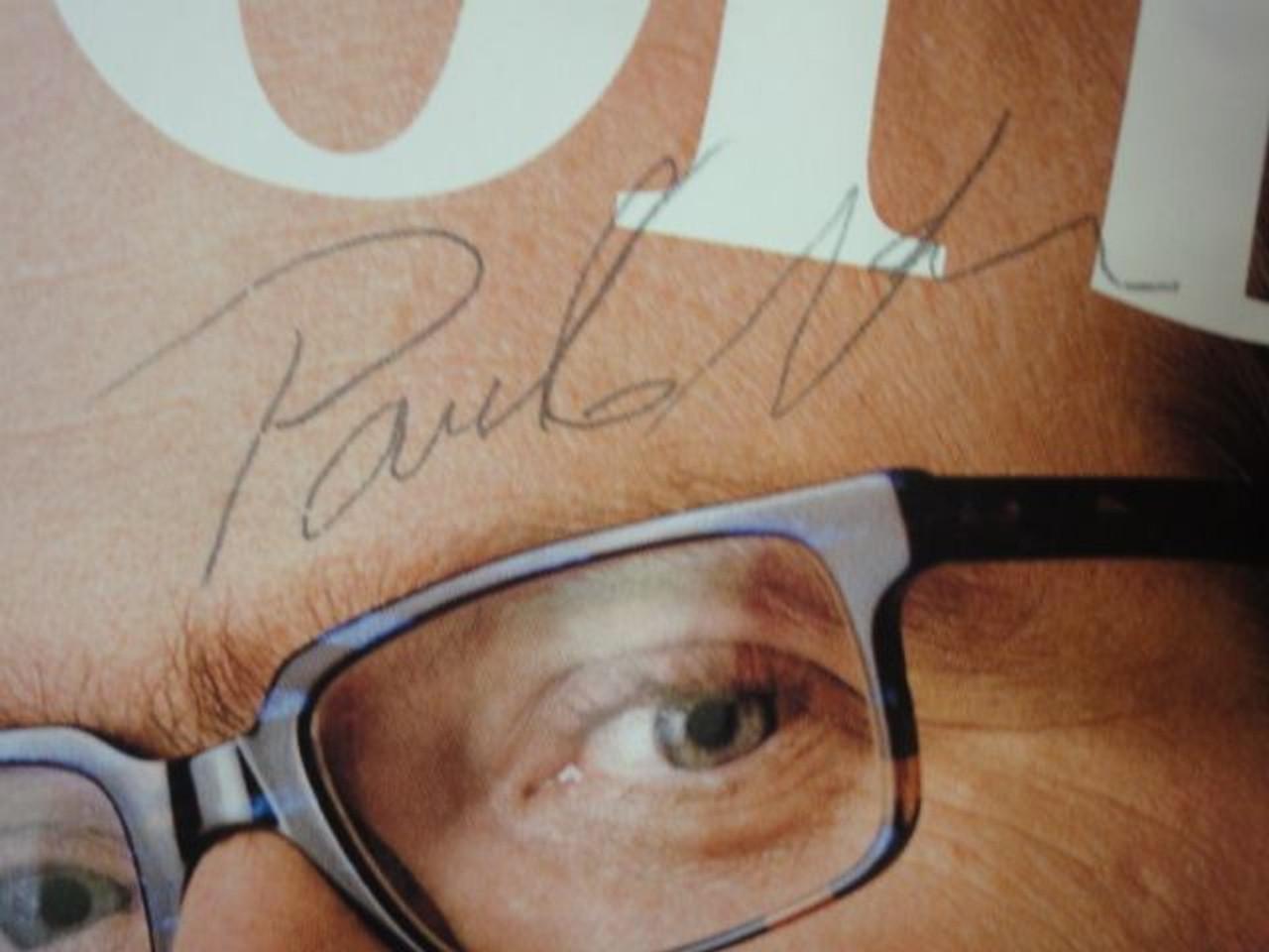 Allen, Paul Microsoft 1999 Signed Autograph Forbes Magazine