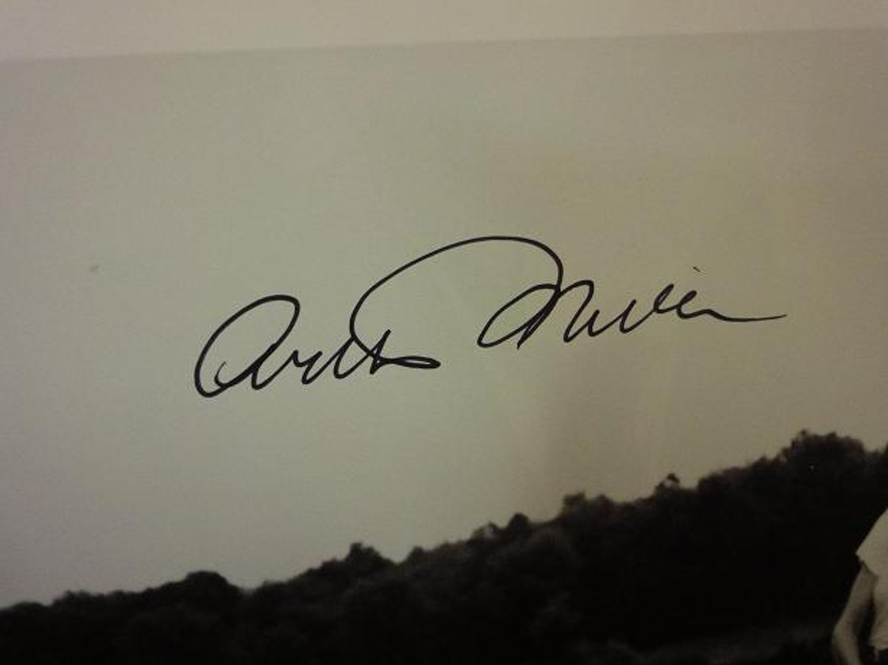 Miller, Arthur Photo Signed Autograph