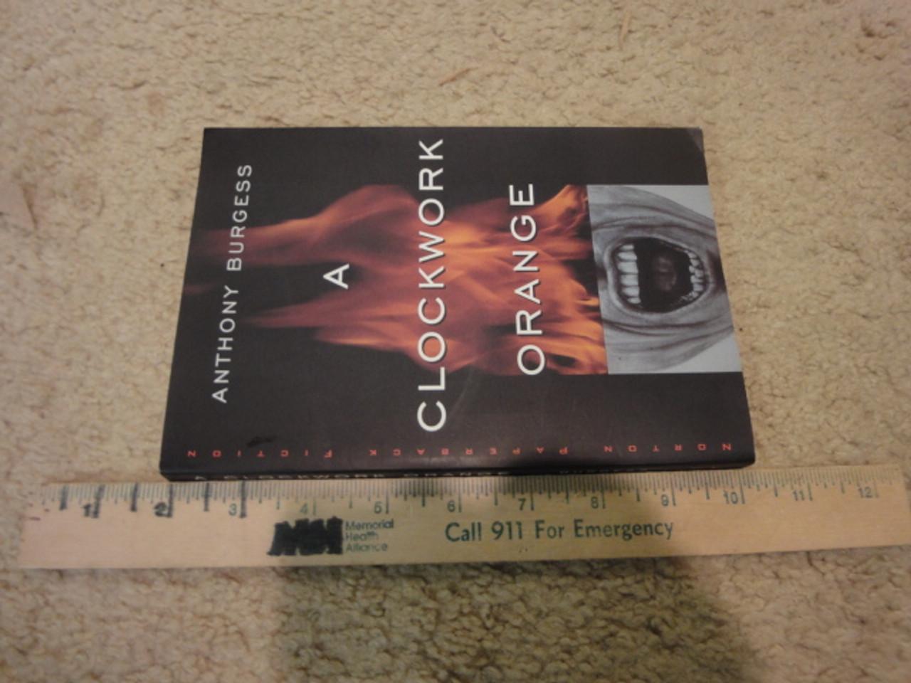 "Burgess, Anthony ""A Clockwork Orange"" 1968 Book Signed Autograph"