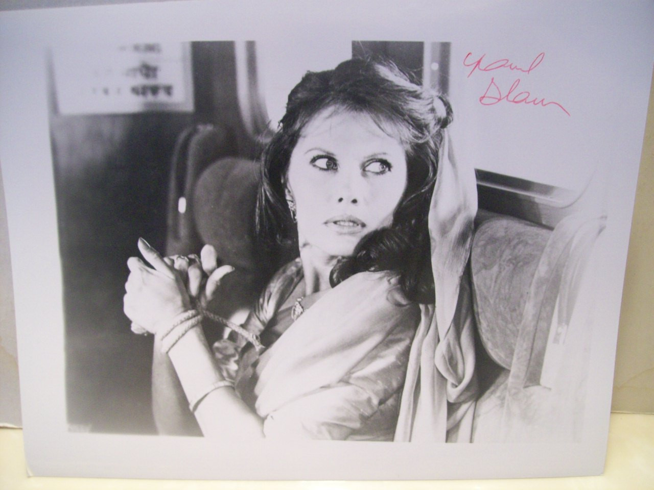 Adams, Maud Photo Signed Autograph The Man With The Golden Gun Octopussy