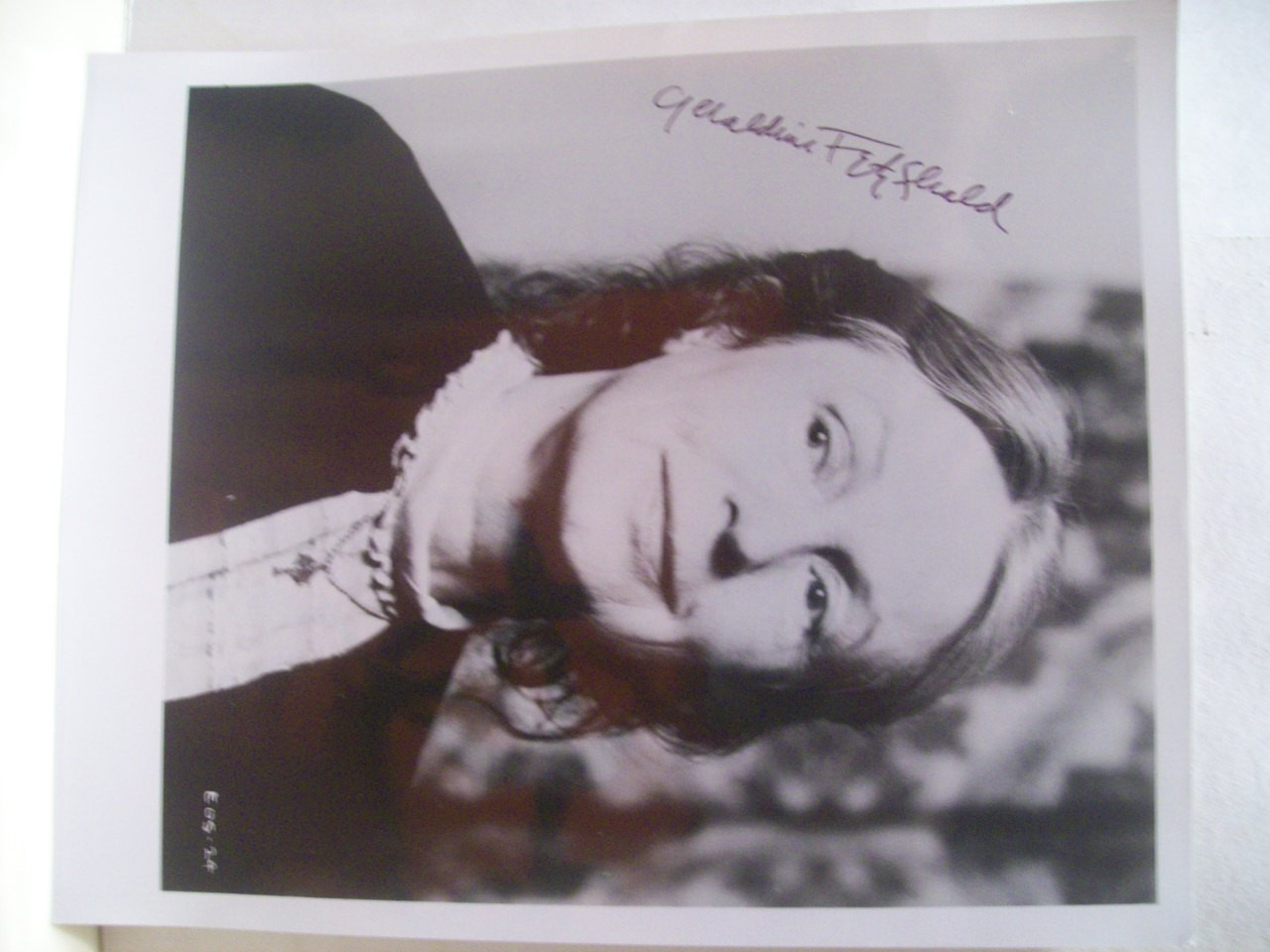 Fitzgerald, Geraldine Photo Signed Autograph Dark Victory Shining Victory The Pawnbroker
