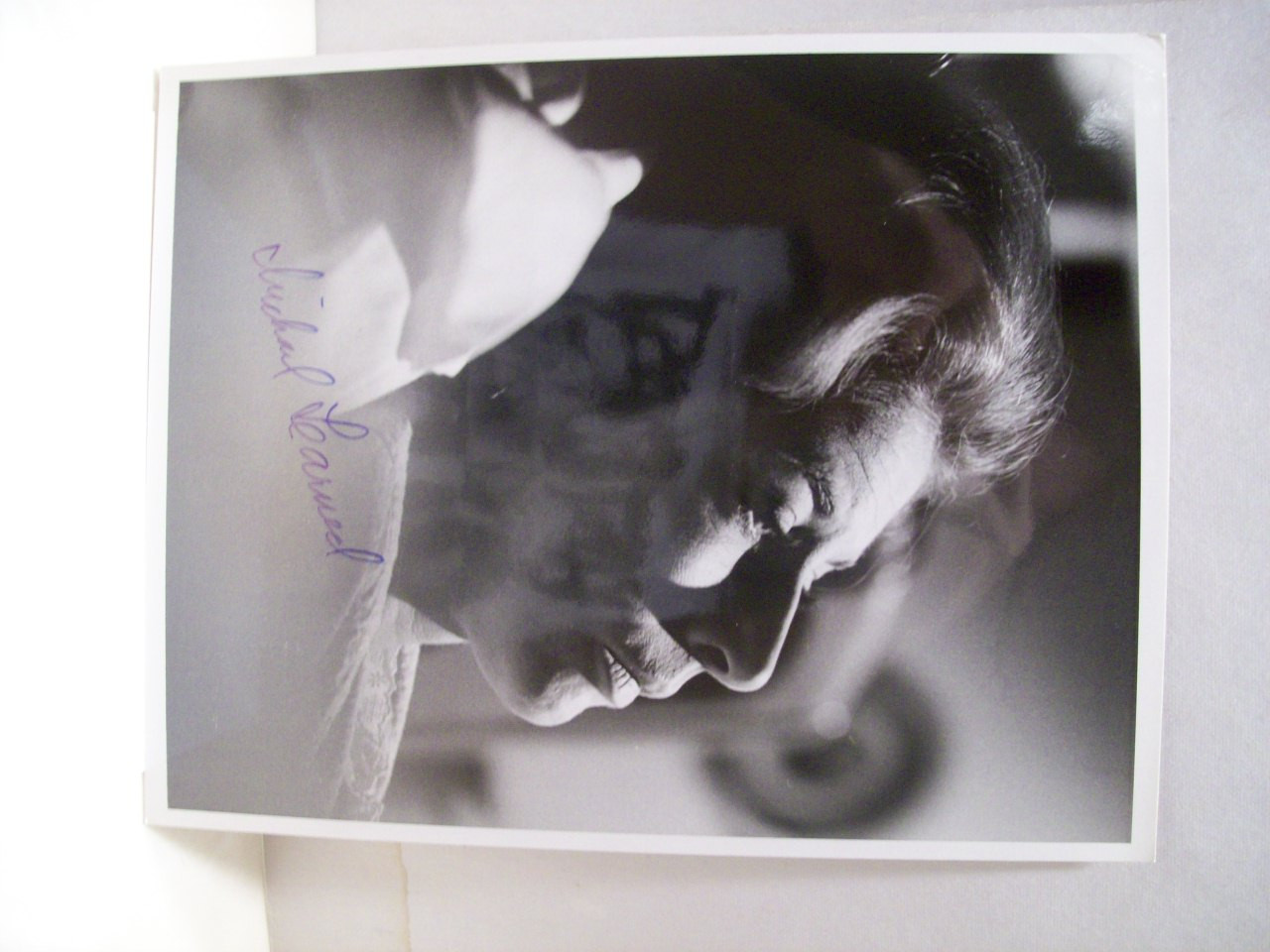 Learned, Michael Photo Signed Autograph The Waltons 1976