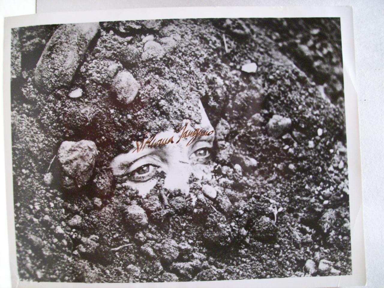"Mangano, Silvana Photo Signed Autograph ""Teorema"" 1968 Museum Of Modern Art Exhibition Photo"
