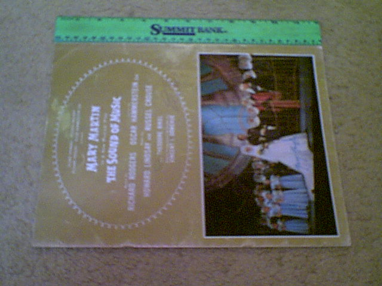 """Martin, Mary Theodore Bikel """"The Sound Of Music"""" 1959 Color Theatre Program Signed Autograph Photos"""