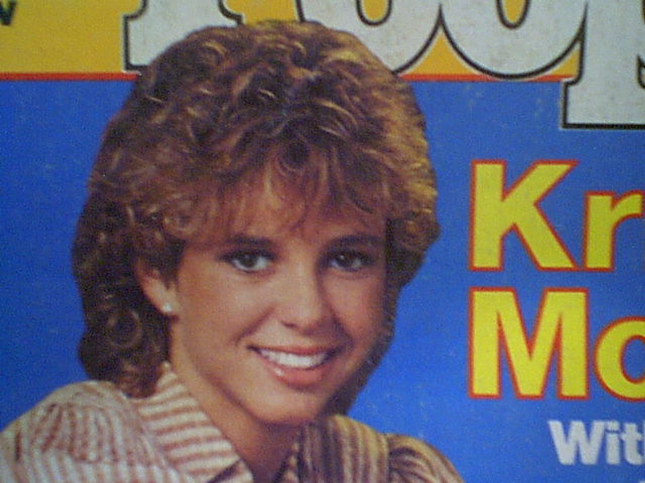 McNichol, Kristy People Magazine 1983 Signed Autograph Color Cover Photo
