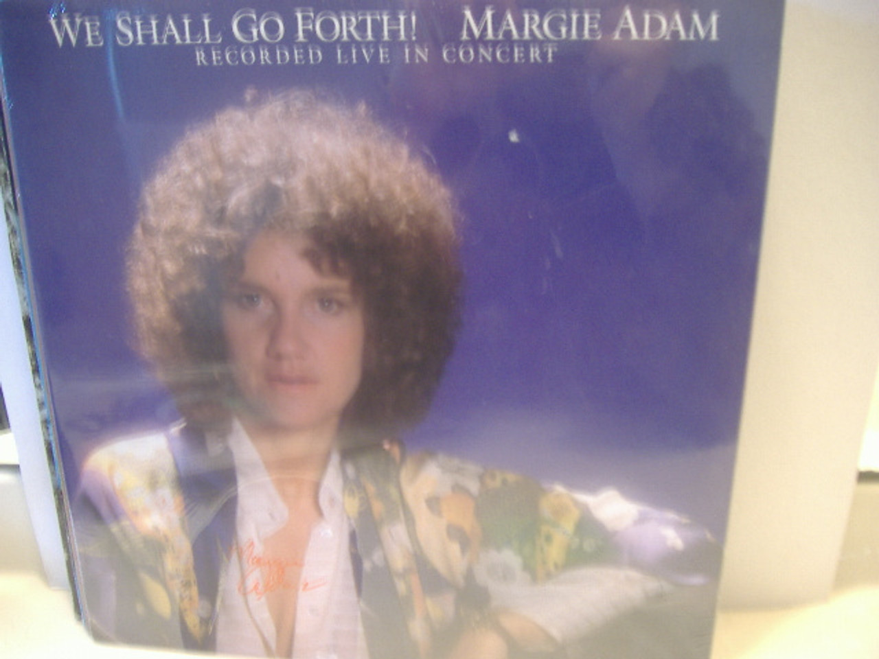 Adam, Margie We Shall Go Forth Signed Autographed Sealed LP Lesbian