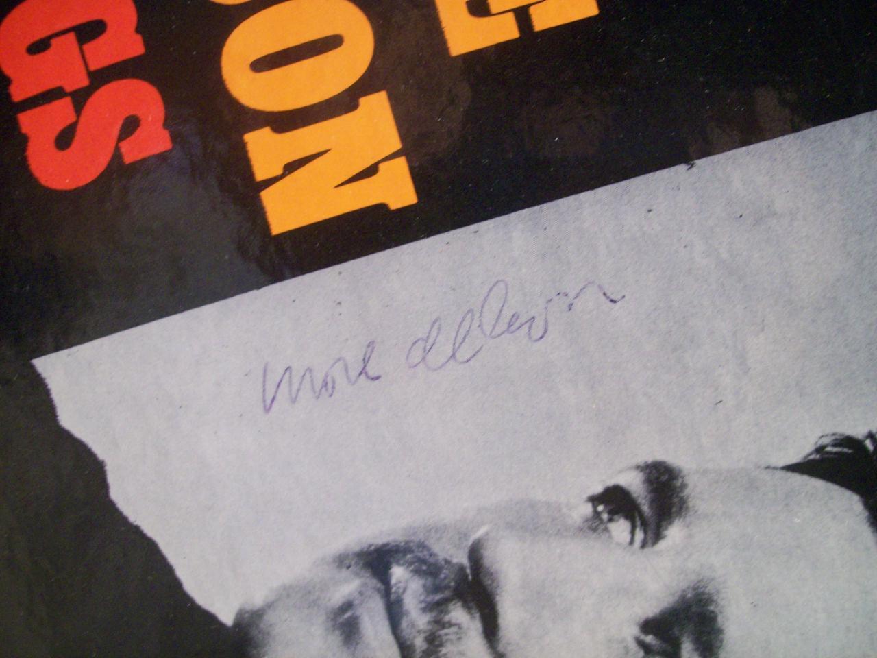 Allison, Mose LP Signed Autograph Sings Jazz