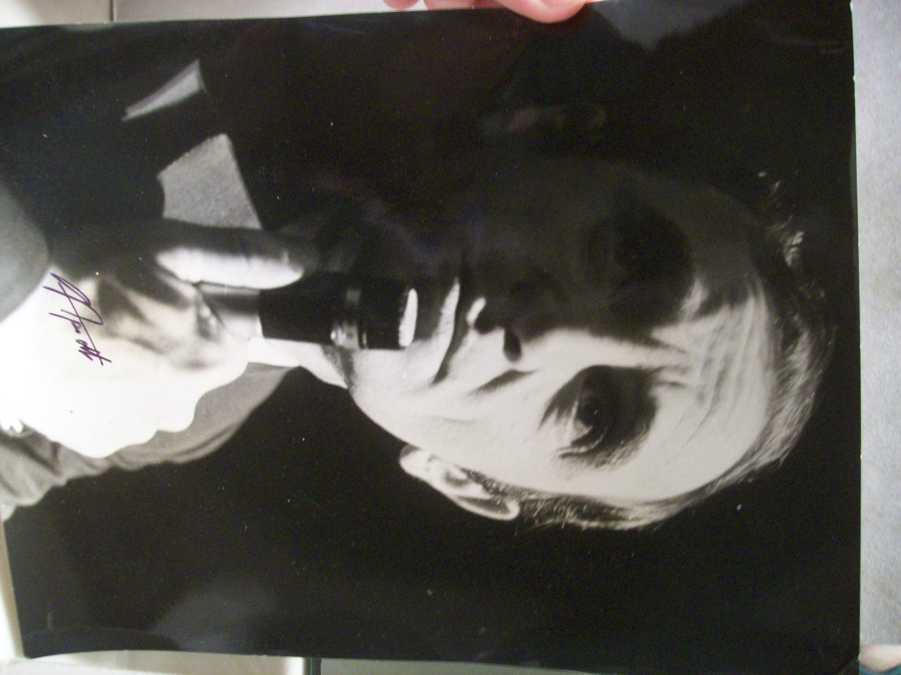 Aznavour, Charles Photo Signed Autograph