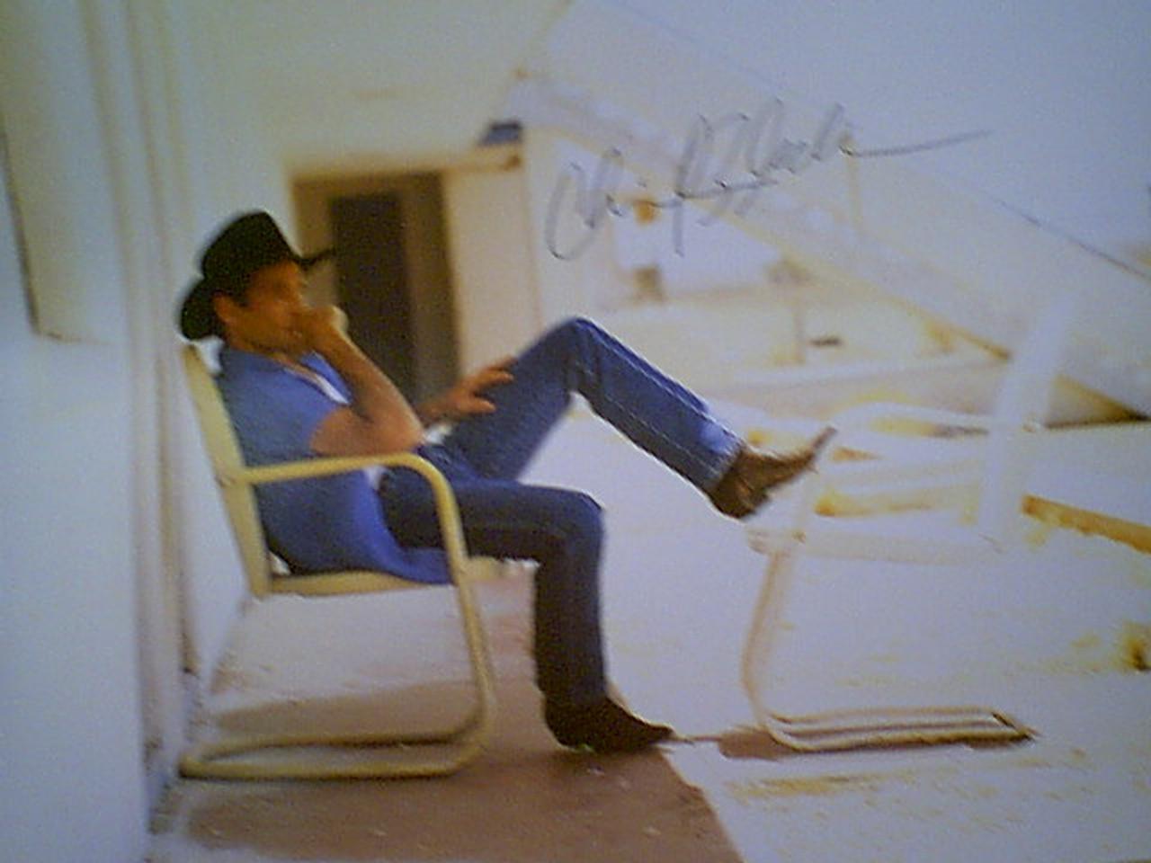 Black, Clint Color Photo Signed Autograph