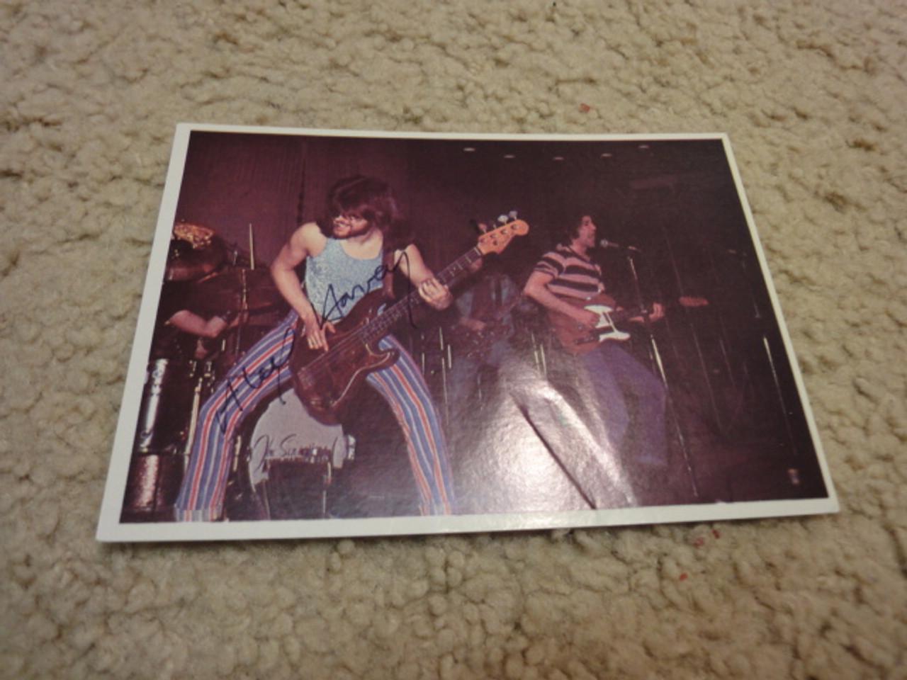 Harvey, Alex Color Photo Trading Card 1973 Signed Autograph Import