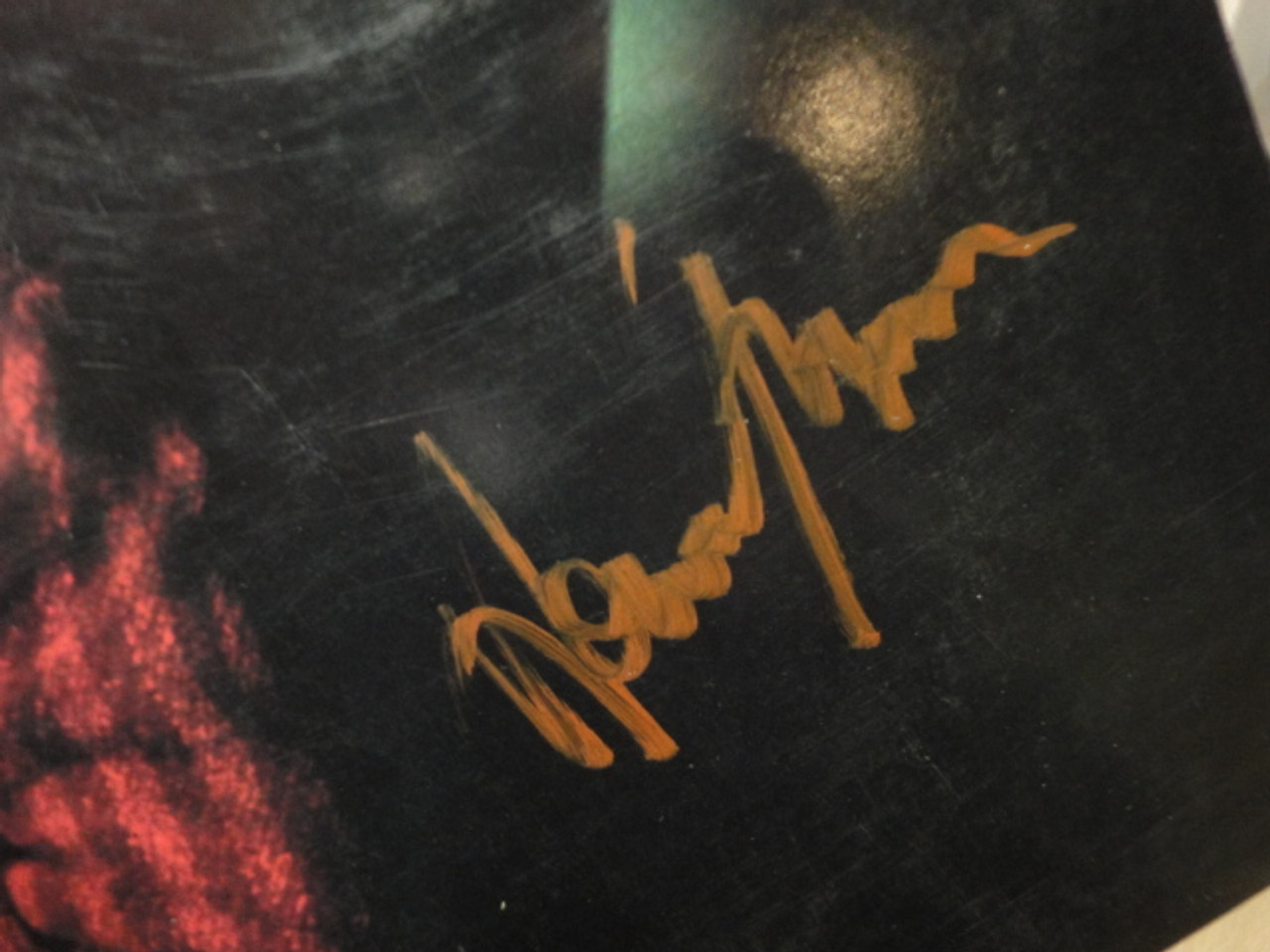 """Jones, Howard """"Dream Into Action"""" 1985 LP Signed Autograph """"No One Is To Blame"""""""