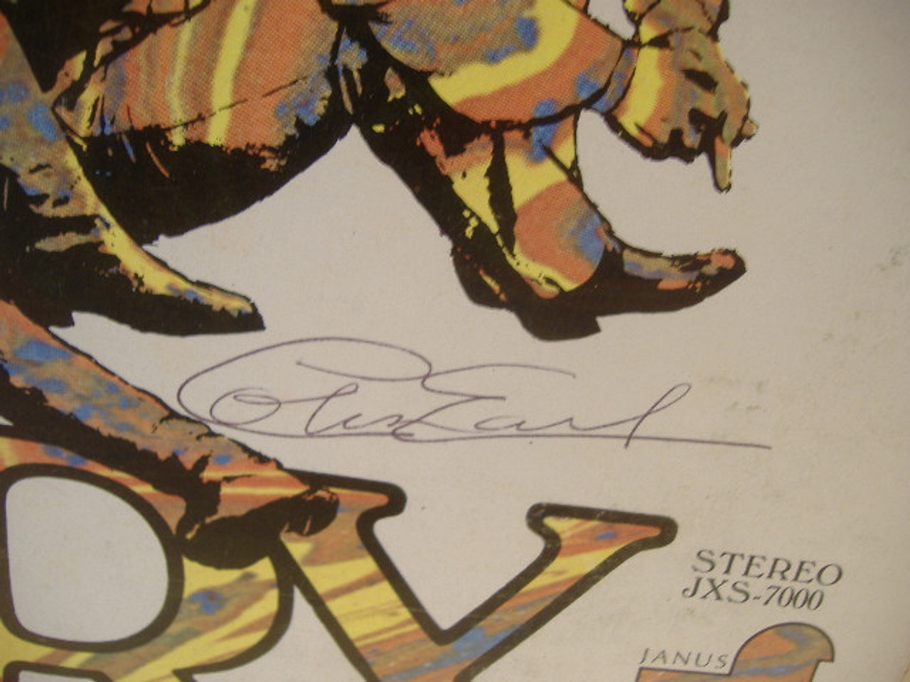Mungo Jerry LP Signed Autograph