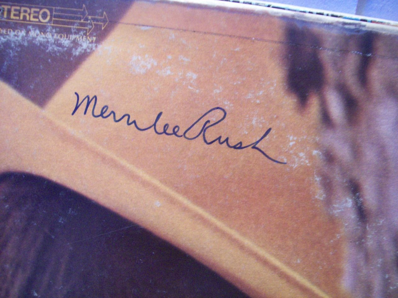 Rush, Merrilee LP Signed Autograph Angel of the Morning