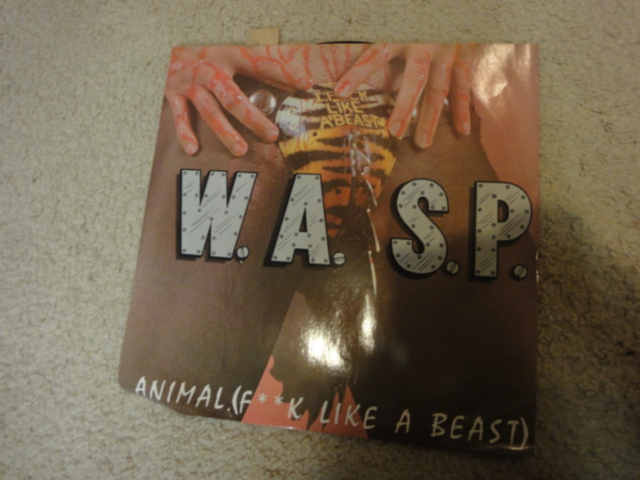 W.A.S.P. WASP Chris Holmes Interview Color Picture Disc Signed Autograph Limited Edition Import