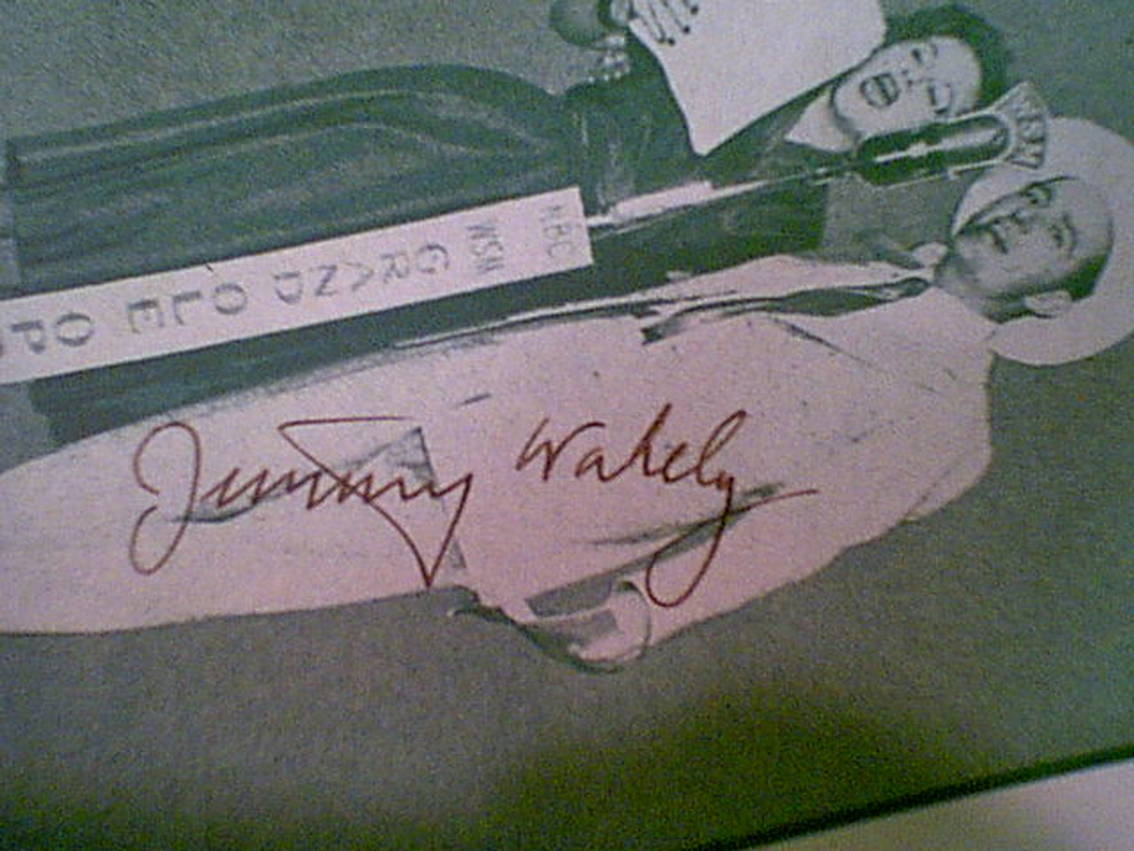 Wakely, Jimmy Sheet Music Signed Autograph Broken Down Merry Go Round 1950